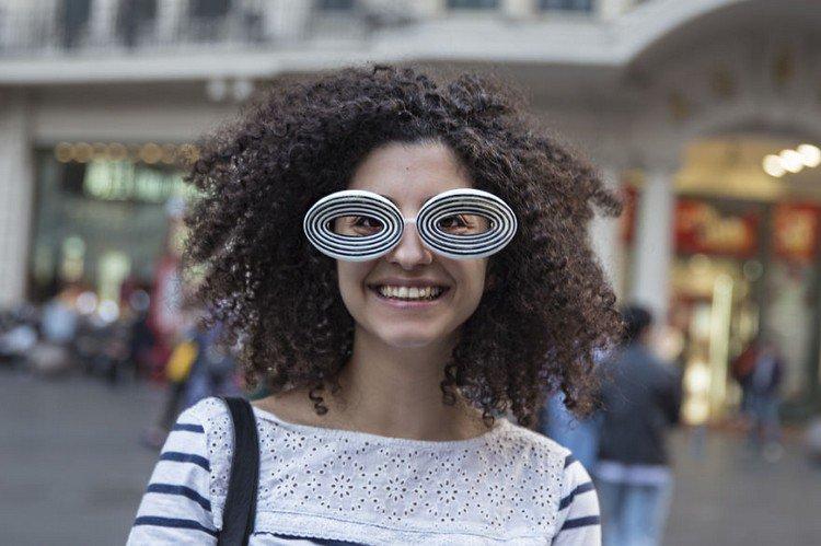 biz eyes eyewear happy girl