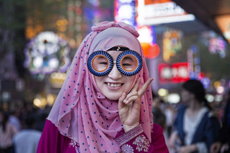biz eyes eyewear pink lady