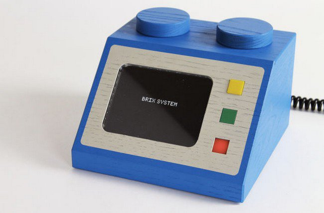 blue brix system console