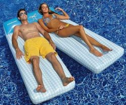 board shorts inflatable lounger