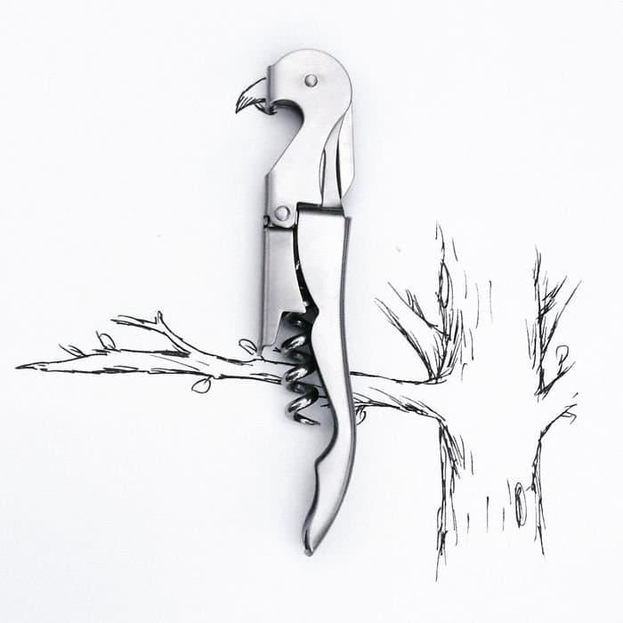bottle opener parrot