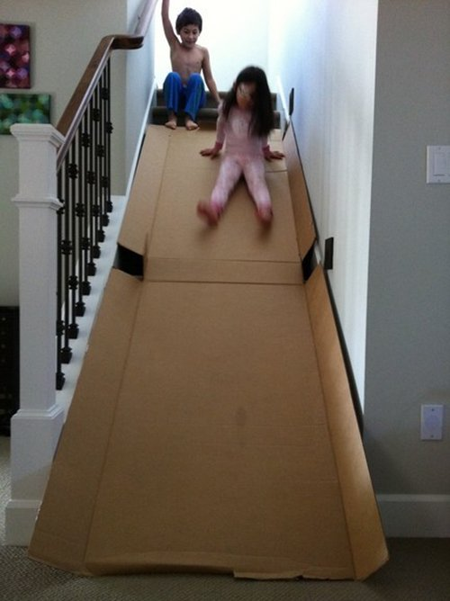 box indoor slide