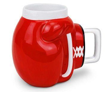 boxing glove mug