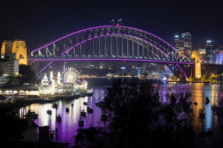 bright bridge
