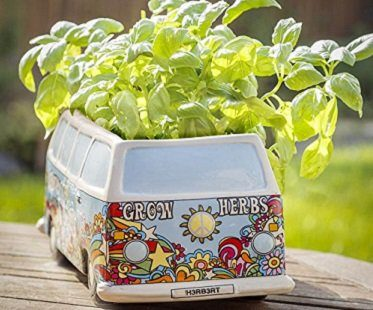 campervan herb planter herbs