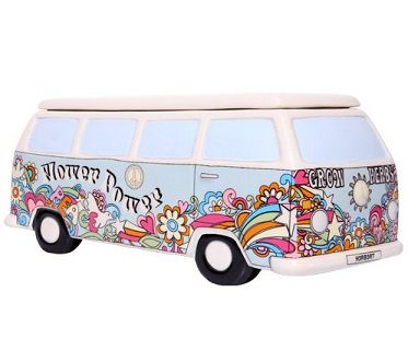 campervan herb planter hippy