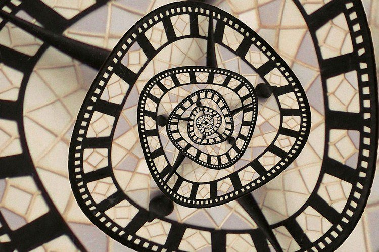 clock droste