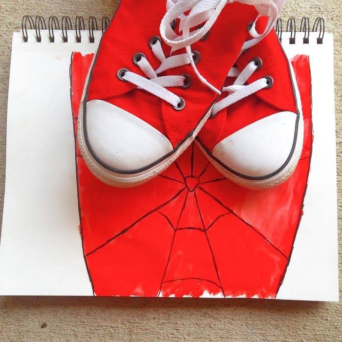 converse spider man
