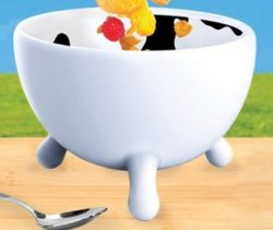 cow udder bowl