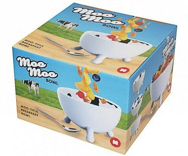 cow udder bowl box