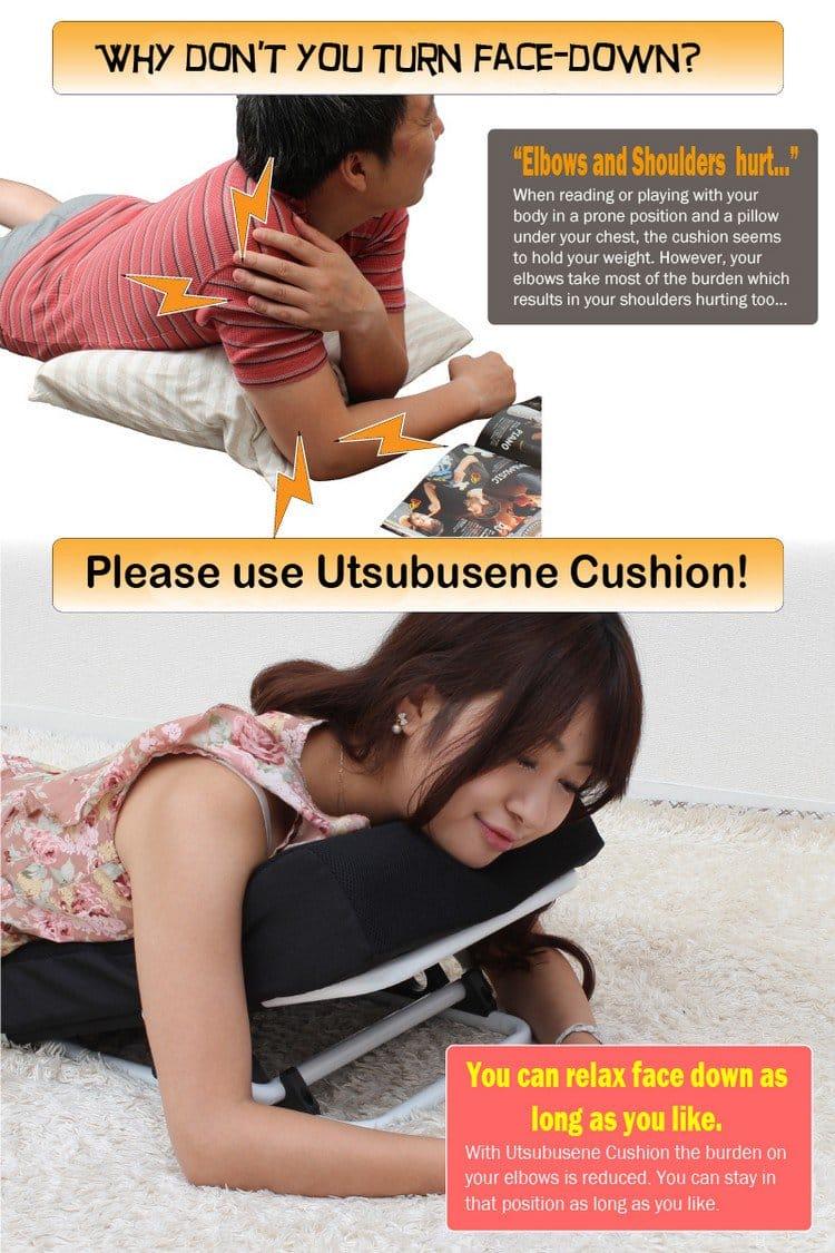 cushion woman man