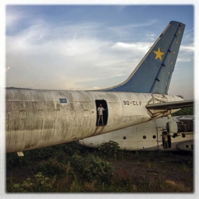 deserted-airplane-congo-door