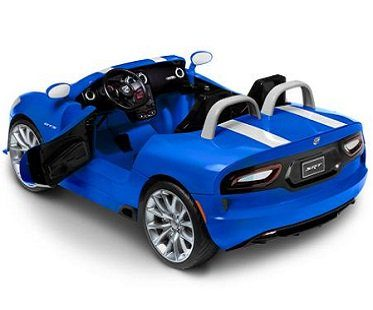 dodge viper battery car back