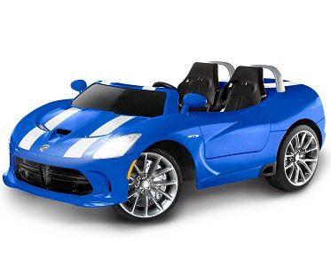 dodge viper battery car blue