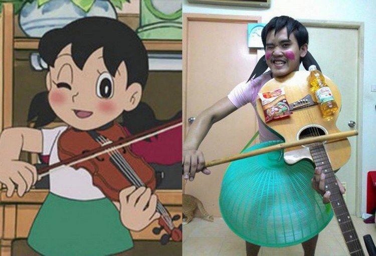 doraemon girl cosplay