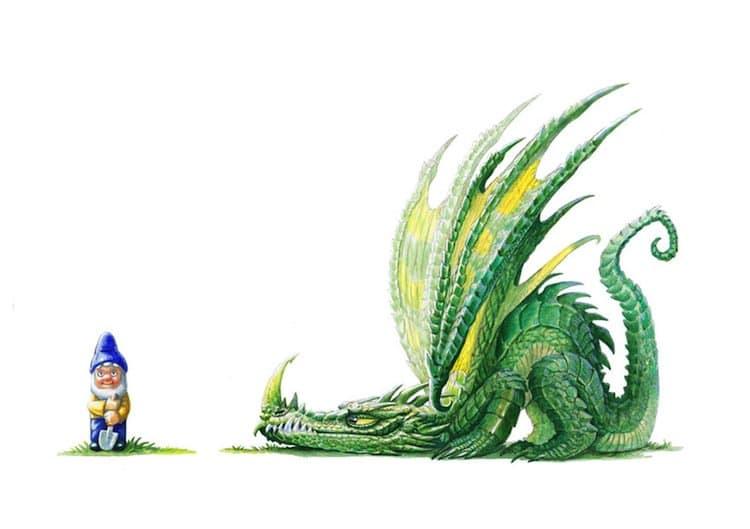 dragons-gnome