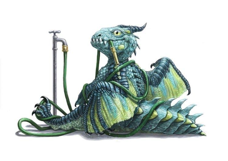 dragons-hose