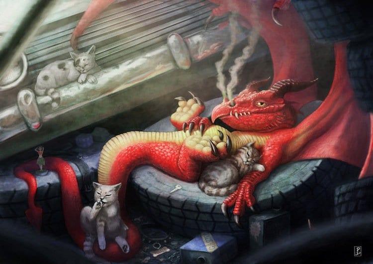 dragons-junk