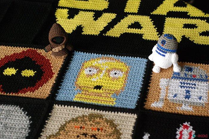 droids star wars blanket