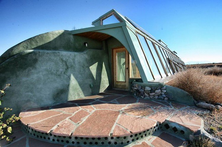 earthship rock