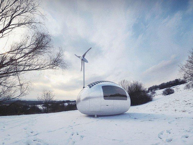 ecocapsule snow