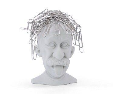 einstein magnetic paper clip holder office