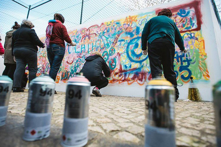 these amazing elderly street artists show that age is no