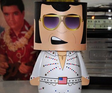 elvis presley lamp