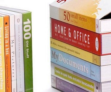 fake books storage box