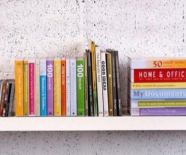 fake books storage boxes shelf