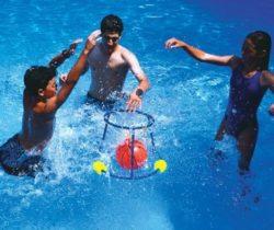 floating basketball game