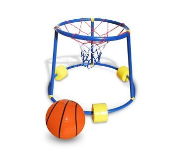 floating basketball game pool