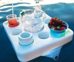 floating drinks bar