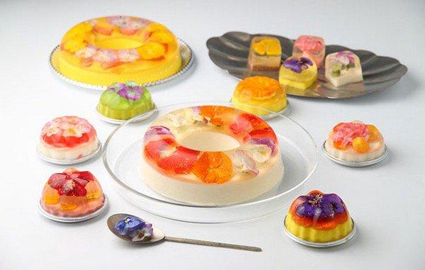 floral desserts