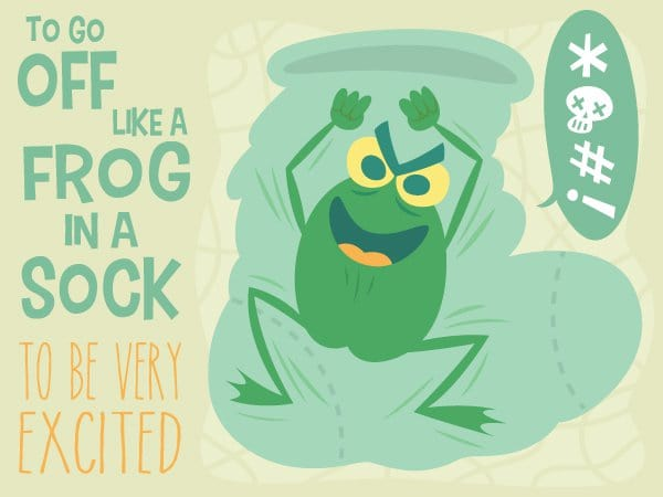 frog in a sock