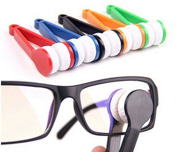 glasses cleaning tool microfiber