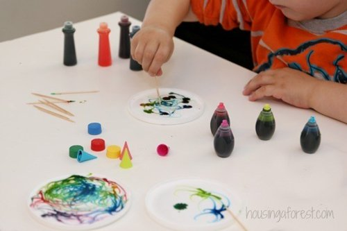 Food Coloring & Science Projects