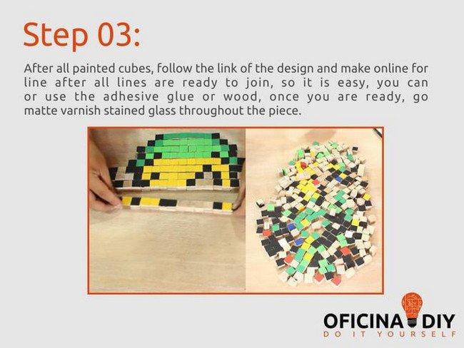 glueing cubes
