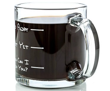 go away not yet coffee mug glass