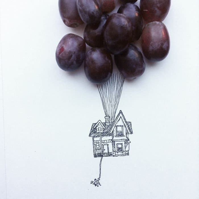 grape balloons