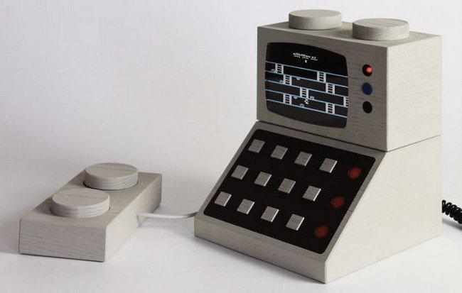 grey lego console
