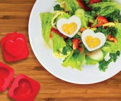 heart shaped boiled egg mold