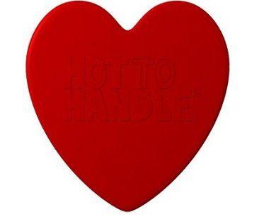 heart-shaped silicone oven mitt tray redheart-shaped silicone oven mitt tray red
