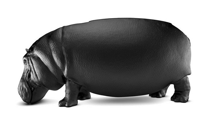hippo chair side