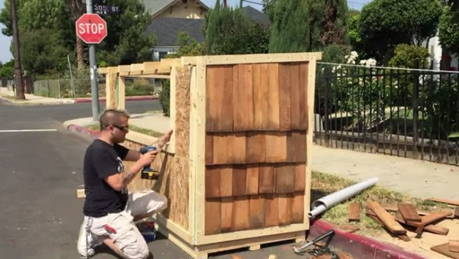 This Man Built A Tiny House For A Big Reason