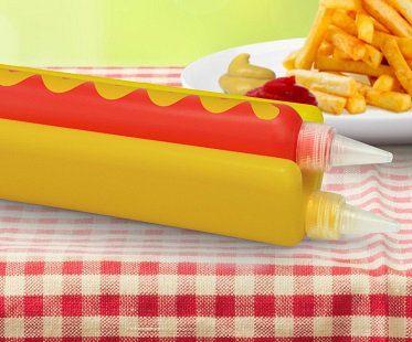 hotdog condiment dispenser