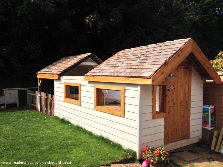 these awesome backyard sheds will inspire you to make