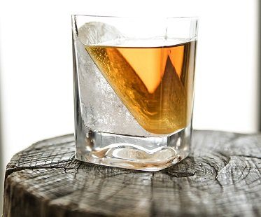 ice wedge glass