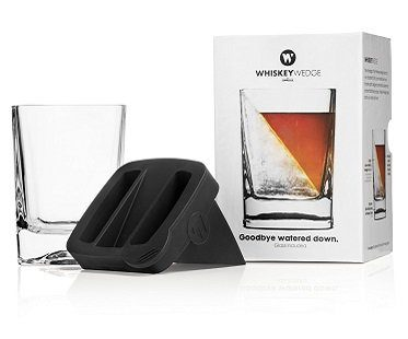 ice wedge glass whiskey corkcicle