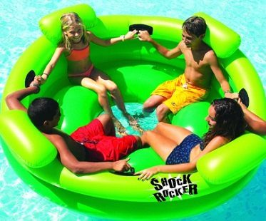 inflatable pool rocker